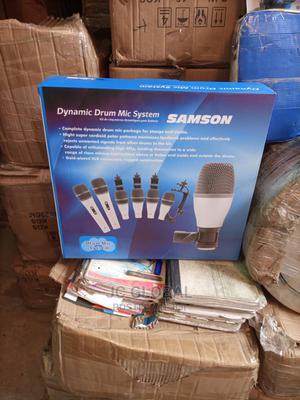 Original Samson 7set Drum Microphone | Audio & Music Equipment for sale in Lagos State, Ojo