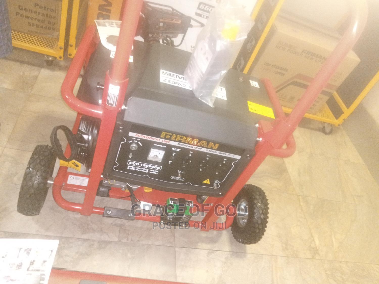 Firman ( 10kva ) Eco_12990es - Generator 100%Copper_coil