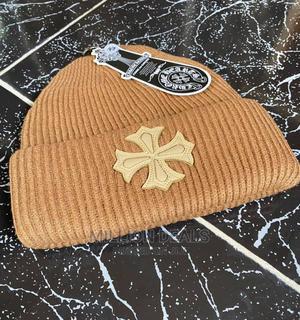Brown Luxury Men's Beanie Hat Head Warmer | Clothing Accessories for sale in Lagos State, Ikorodu