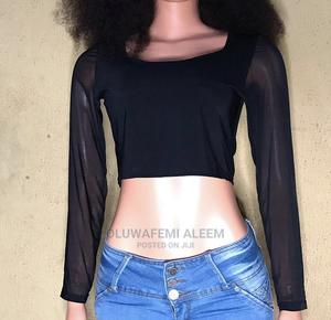 Black Crop Top   Clothing for sale in Lagos State, Alimosho