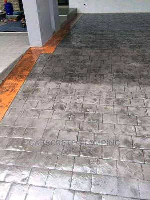 Concrete Stamped Floor | Building & Trades Services for sale in Lagos State, Magodo