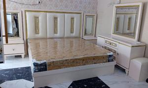Classic and Elegant Bed With Bedside and Dressing Mirror | Furniture for sale in Lagos State, Ajah