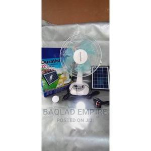 Duravolt DV 12 Inches Rechargeable Table Fan - DRF-12T   Home Appliances for sale in Lagos State, Ikoyi