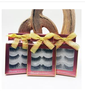 3 in 1 Mink Lashes   Makeup for sale in Ondo State, Akure