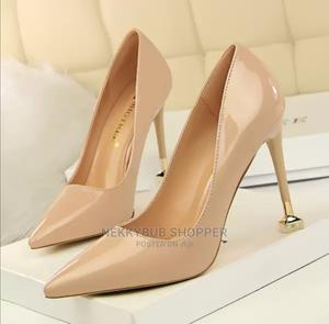 Nude Court Shoes Nude Corporate Shoes Nude Office Shoesheels   Shoes for sale in Rivers State, Port-Harcourt
