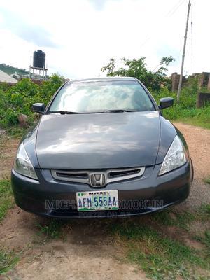 Honda Accord 2005 Sedan LX V6 Automatic Gray | Cars for sale in Ogun State, Abeokuta South