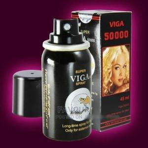 Super Viga Delay Spray 50000(With Vitamin E) | Sexual Wellness for sale in Lagos State, Surulere