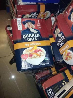 Quaker Oat 2bags of 5LB 100% Whole Grain Oat Old Fashioned | Meals & Drinks for sale in Lagos State, Lekki