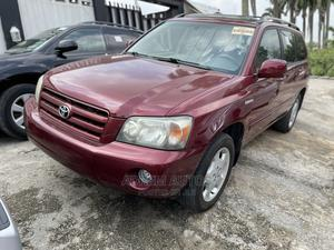 Toyota Highlander 2006 Limited V6 4x4 Red | Cars for sale in Lagos State, Ogba