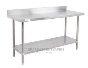 Quality Working Table With Back | Restaurant & Catering Equipment for sale in Lagos State, Surulere