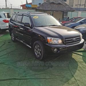 Toyota Highlander 2005 V6 Black | Cars for sale in Lagos State, Ogba