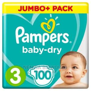 Pampers Baby Dry Diaper - Size 3 - 100 Count   Baby & Child Care for sale in Lagos State, Kosofe