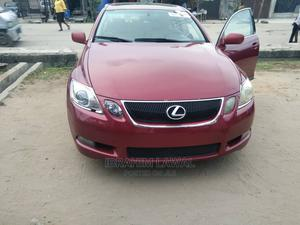 Lexus GS 2006 300 AWD Red   Cars for sale in Lagos State, Amuwo-Odofin