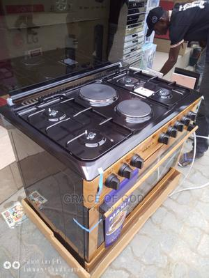 Polystar Standing Gas Cooker 6burners (4gas,2electric,Oven)   Kitchen Appliances for sale in Lagos State, Ikeja