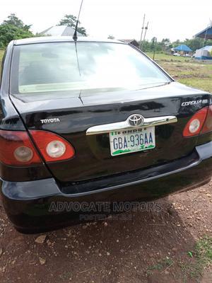 Toyota Corolla 2006 S Black | Cars for sale in Ondo State, Akure