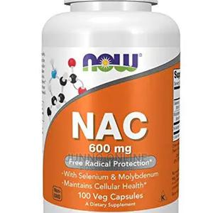 Now Food Nac 600mg Free Radicals Protection 100 Capsules   Vitamins & Supplements for sale in Lagos State, Ikoyi