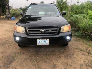 Toyota Highlander 2007 V6 4x4 Black   Cars for sale in Lagos State, Ikorodu