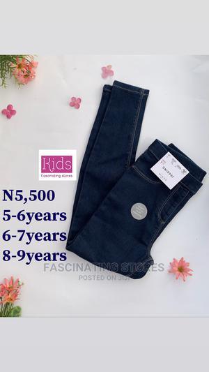 Kids Girls Denim Jeggings Kids Clothing Kids Wears | Children's Clothing for sale in Abuja (FCT) State, Garki 2