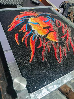 The Lion King Beaded Portrait | Arts & Crafts for sale in Rivers State, Port-Harcourt