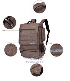 Socko 672 Brown Backpack   Bags for sale in Lagos State, Ajah