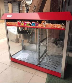 Popcorn Machine With Snacks Warmer | Restaurant & Catering Equipment for sale in Lagos State, Ojo