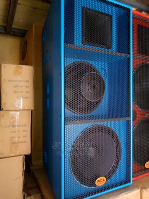 WCL Original Acoustic Double Speaker | Audio & Music Equipment for sale in Lagos State, Orile