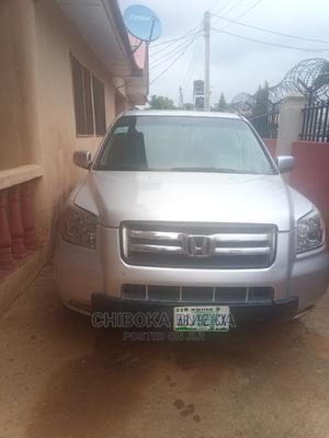 Honda Pilot 2006 LX 4x4 (3.5L 6cyl 5A) Silver | Cars for sale in Abuja (FCT) State, Karu