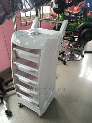 White Salon Trolley | Salon Equipment for sale in Abuja (FCT) State, Gwarinpa