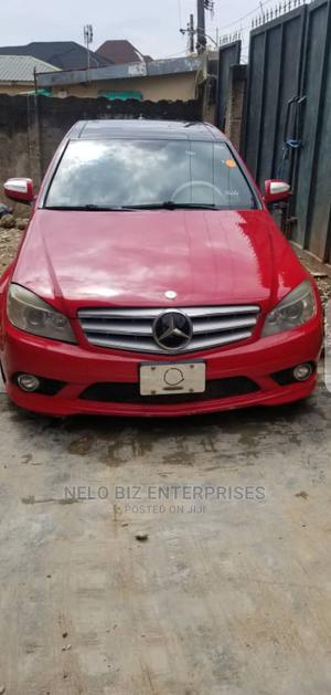 Mercedes-Benz C300 2008 Red | Cars for sale in Lagos State, Agboyi/Ketu