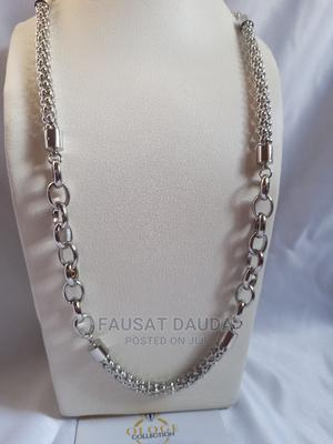 Plain Silver Shirtchain   Jewelry for sale in Lagos State, Agboyi/Ketu