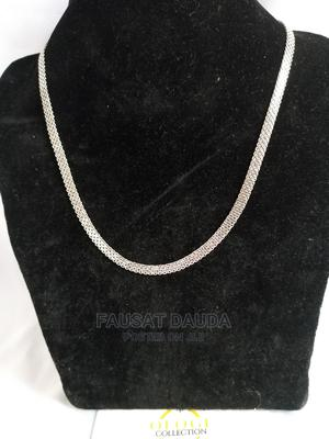 Silver Thick Unisex Carpet Chain   Jewelry for sale in Lagos State, Agboyi/Ketu