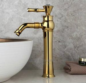 White and Gold New Ideal England Tap   Plumbing & Water Supply for sale in Lagos State, Lekki