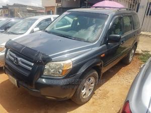 Honda Pilot 2006 EX-L 4x4 (3.5L 6cyl 5A) Gray   Cars for sale in Lagos State, Ejigbo