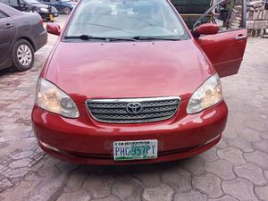 Toyota Corolla 2007 LE Red | Cars for sale in Rivers State, Obio-Akpor