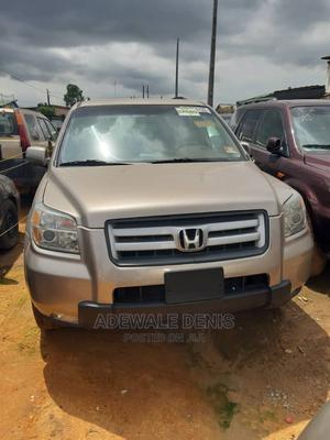 Honda Pilot 2006 EX 4x4 (3.5L 6cyl 5A) Gold | Cars for sale in Lagos State, Ikeja