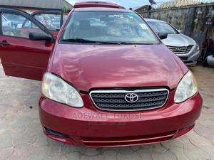 Toyota Corolla 2003 Red | Cars for sale in Lagos State, Isolo