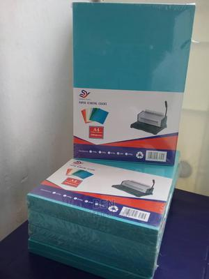 A4 Binding Hard Paper Cover - 100 Pieces - Blue | Stationery for sale in Abuja (FCT) State, Lugbe District