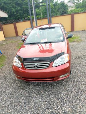 Toyota Corolla 2004 1.4 D Automatic Red | Cars for sale in Edo State, Benin City