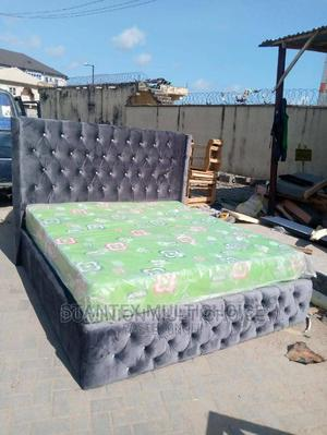 Upholstery Bed 6by6   Furniture for sale in Lagos State, Lekki