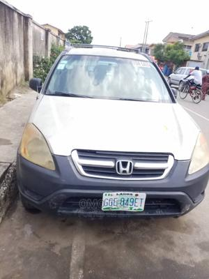 Honda CR-V 2004 EX 4WD Automatic Silver | Cars for sale in Lagos State, Surulere