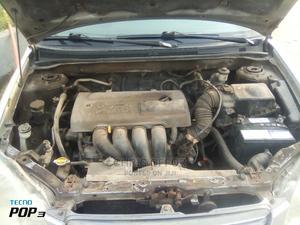 Toyota Corolla 2003 Sedan Silver | Cars for sale in Lagos State, Yaba