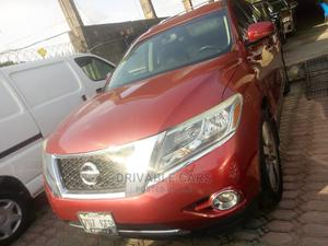 Nissan Pathfinder 2013 Platinum FWD Red   Cars for sale in Lagos State, Amuwo-Odofin