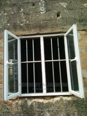 3 by 4 Fit Casement Windows With Protector | Windows for sale in Anambra State, Onitsha