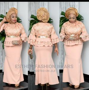 Quality Turkey Peplum Skirt and Blouse Available in Sizes | Clothing for sale in Lagos State, Ikeja