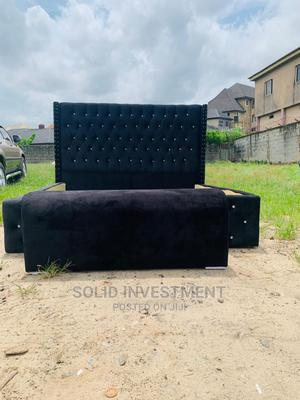 6/6 Bed Frame With Two Side Drawer | Furniture for sale in Lagos State, Ajah