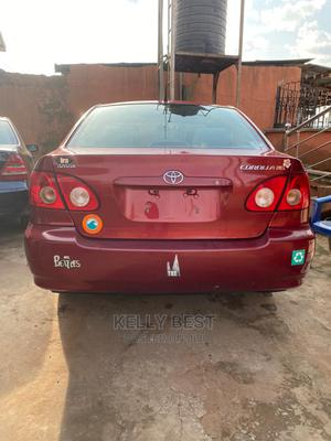 Toyota Corolla 2007 LE Red | Cars for sale in Edo State, Egor
