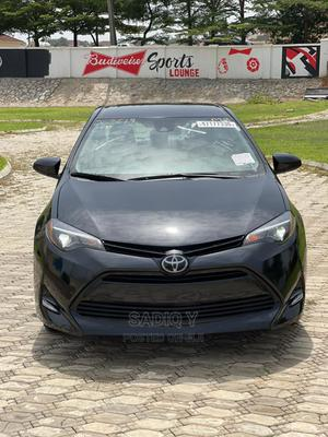 Toyota Corolla 2018 LE (1.8L 4cyl 2A) Black | Cars for sale in Abuja (FCT) State, Mabushi