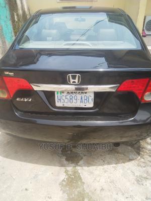 Honda Civic 2009 1.8i-Vtec VXi Automatic Black   Cars for sale in Abuja (FCT) State, Kubwa