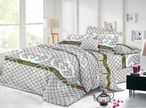 Designer Duvet, Bedsheet With 4 Pillowcases | Home Accessories for sale in Lagos State, Ikeja