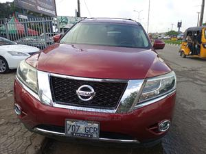 Nissan Pathfinder 2014 Red | Cars for sale in Lagos State, Amuwo-Odofin
